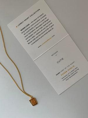 Covet & Keep 'Cutie'  Necklace in Gold