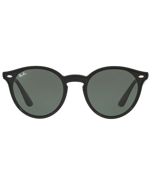 Ray Ban Blaze Panthos Black with Green