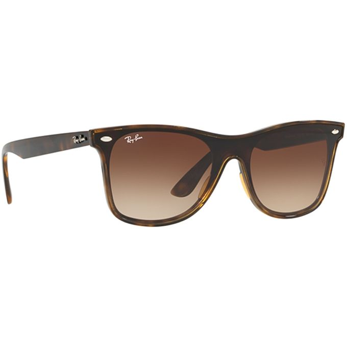 Ray Ban Blaze Wayfarer Light Havana with Brown Gradient