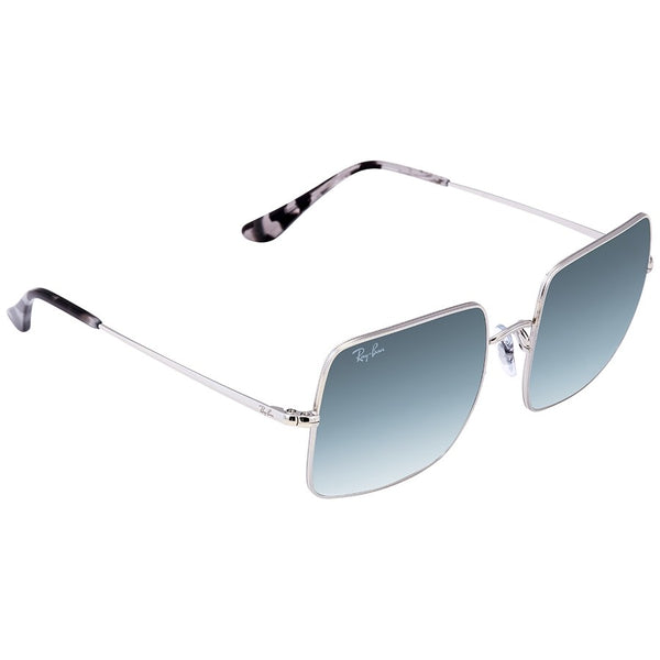 Ray Ban Square Evolve in Silver with Light Blue Photocronic lenses