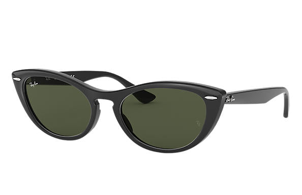 Ray Ban Nina Black with Green
