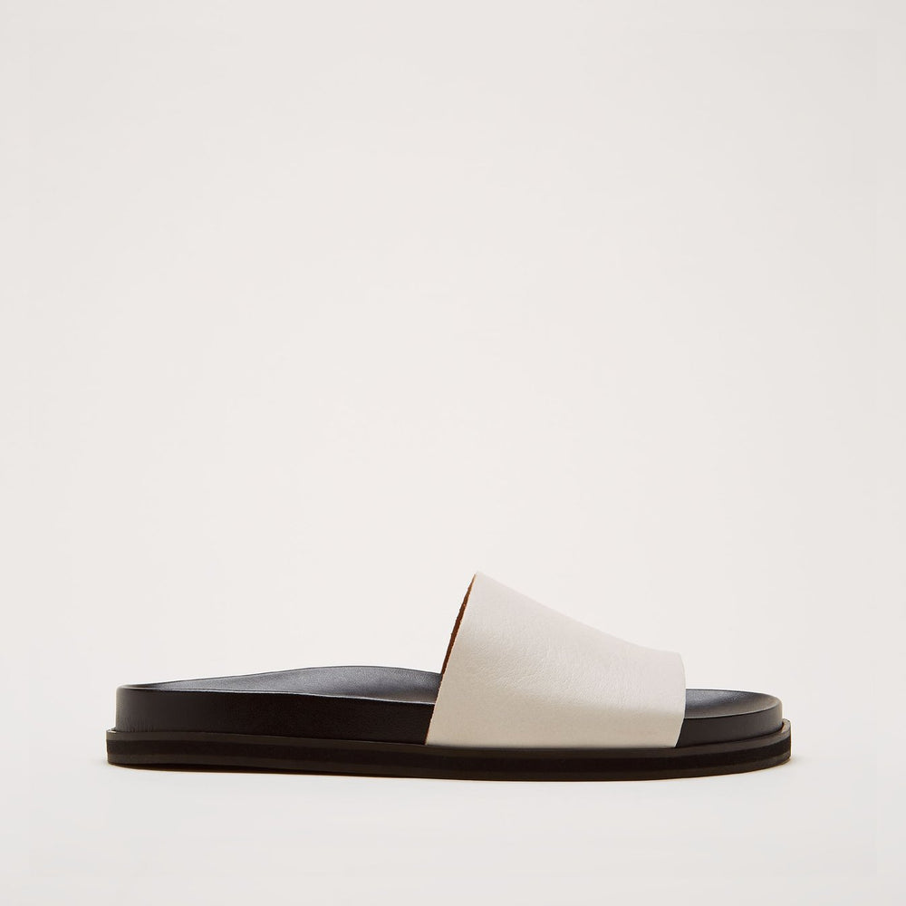 Load image into Gallery viewer, Sister x Soeur Amelia Beige Slide Sandal