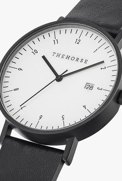 The Horse D-Series Watch in Black