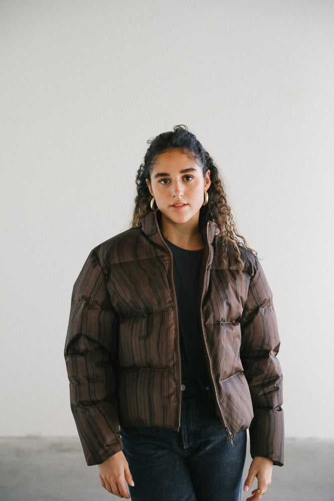 Load image into Gallery viewer, Paloma Wool Marron Copernico Puffy Jacket