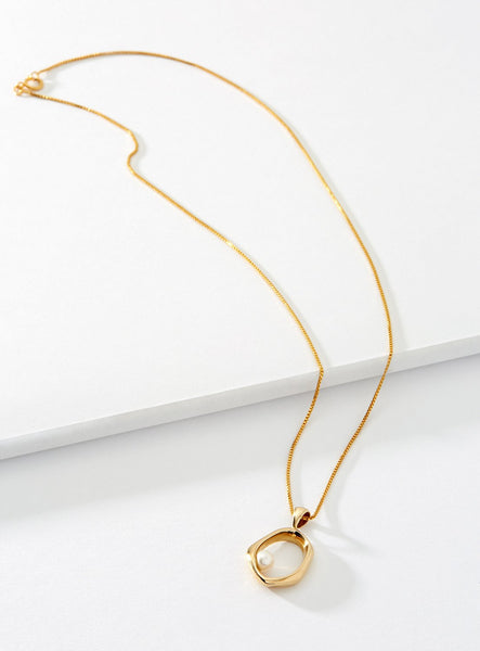 Cadette Jewelry Hera necklace in Gold and Silver