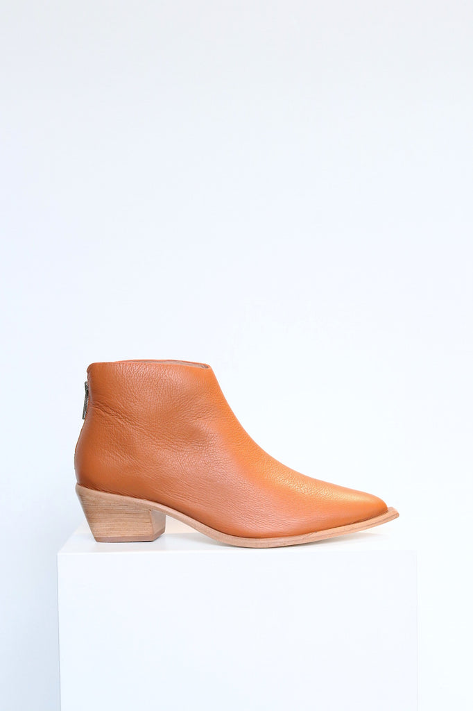 Wal & Pai West Boot in Burnt Calf