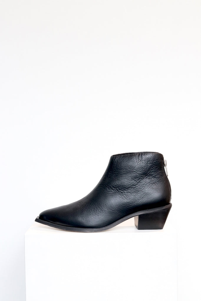 Wal & Pai West Leather Boot in Black