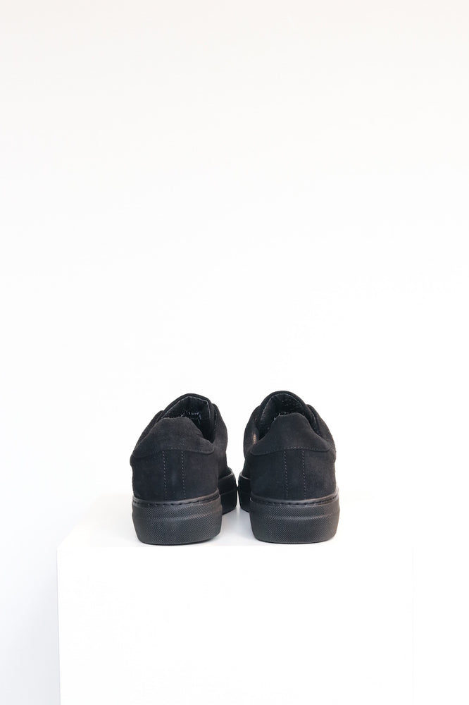 Load image into Gallery viewer, Sister x Soeur Lana Sneaker in Black Suede
