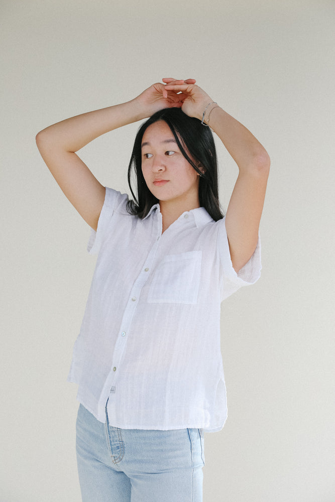 Load image into Gallery viewer, Rails Marloes White Shirt