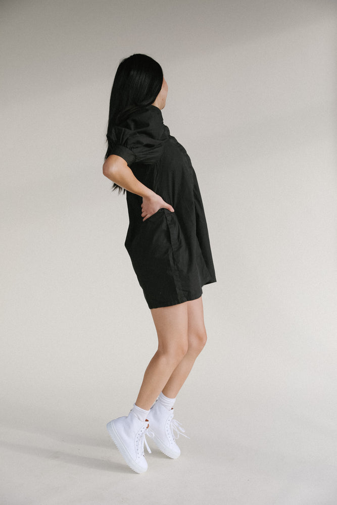 Rowie Macy Dress in Black or Bone