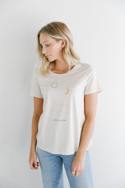 Mate the Label Under the Moonlight Graphic Tee