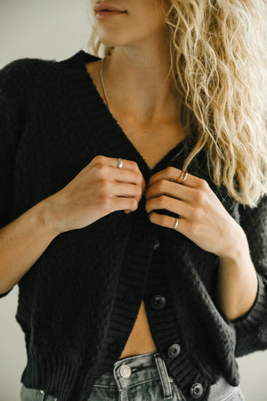 Rue Stiic Joan Cardigan in Black
