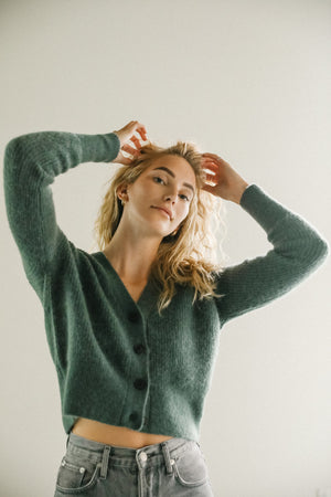 Just Female Rebelo Balsam Knit Cardigan Sweater