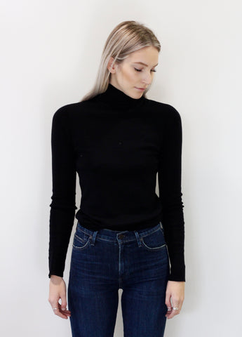 Line women's long sleeve turtle neck knit