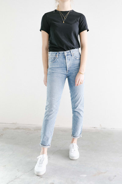 Citizens of Humanity Liya Cropped Denim in Archive
