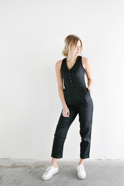 Frnds of Ours Linen Ameel Jumpsuit
