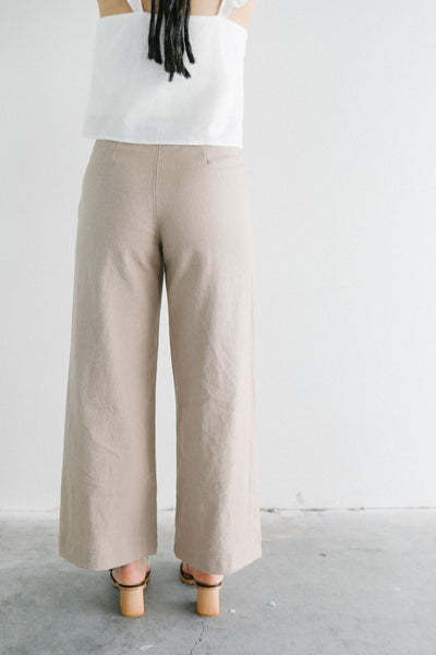 Harly Jae Pierot Pants in Nomad