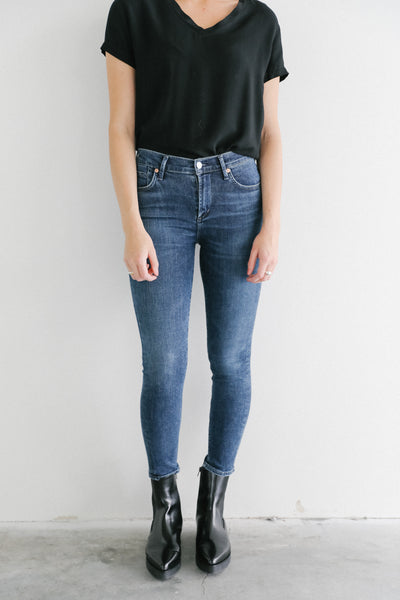 Citizens of Humanity Alto Rocket Crop Mid Rise Skinny
