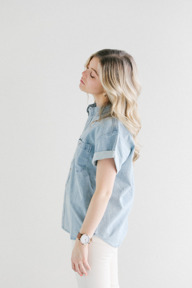Rolla's Daria Denim Shirt