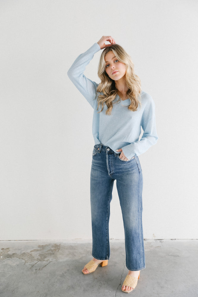 Citizens of Humanity Joanna Straight Leg Jeans in Freewheel