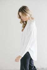7115 Signature Dolman Shirt in White