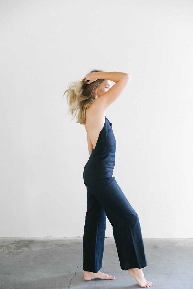 Load image into Gallery viewer, Paloma Wool Beirut Halter Pant Jumpsuit