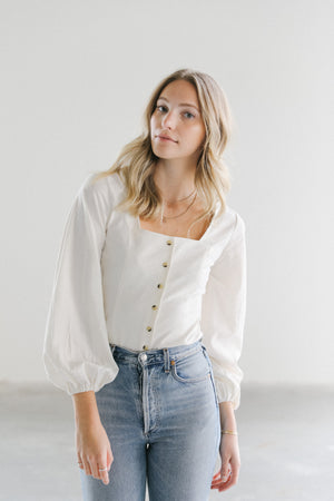 Load image into Gallery viewer, Rolla's Roxanne Linen Blouse