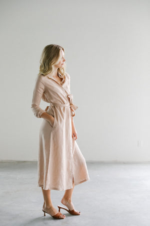 Lanhtropy Paris Linen Dress
