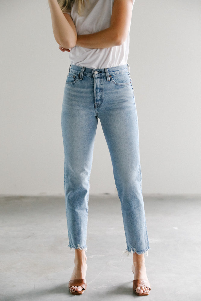 Load image into Gallery viewer, Wedgie Icon Fit in Shut Up Denim