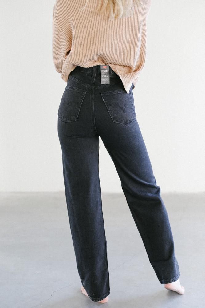 Levi's High Loose Denim in Trainwreck