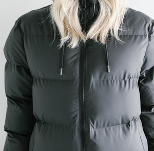 Rains Long Puffer Jacket