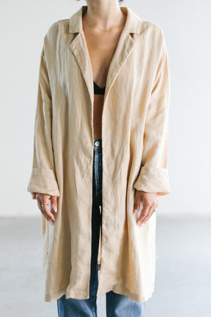 Load image into Gallery viewer, Filosofia Anna Spring Coat in Ochre
