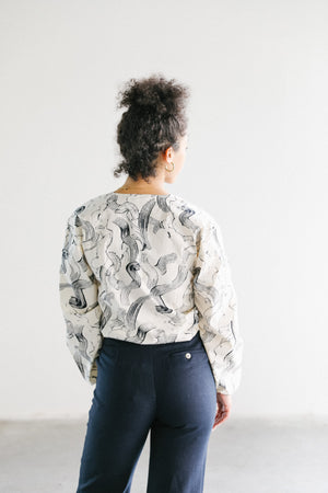 Just Female Paper Blouse