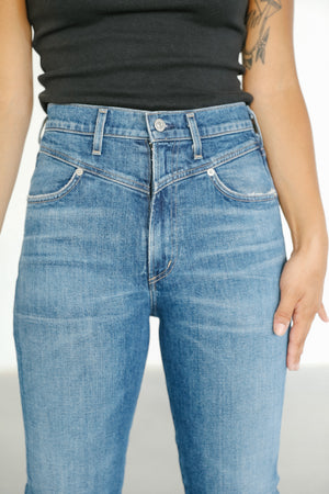 Citizens of Humanity Mia Organic Front Yoke Denim