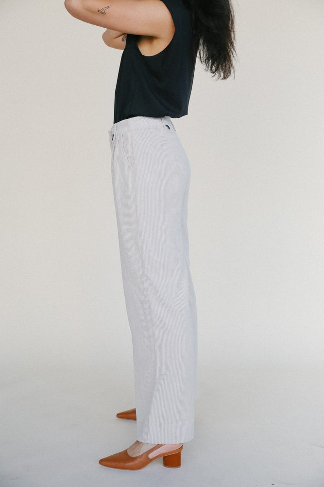 Just Female Corduroy Moscow Trousers in Beige