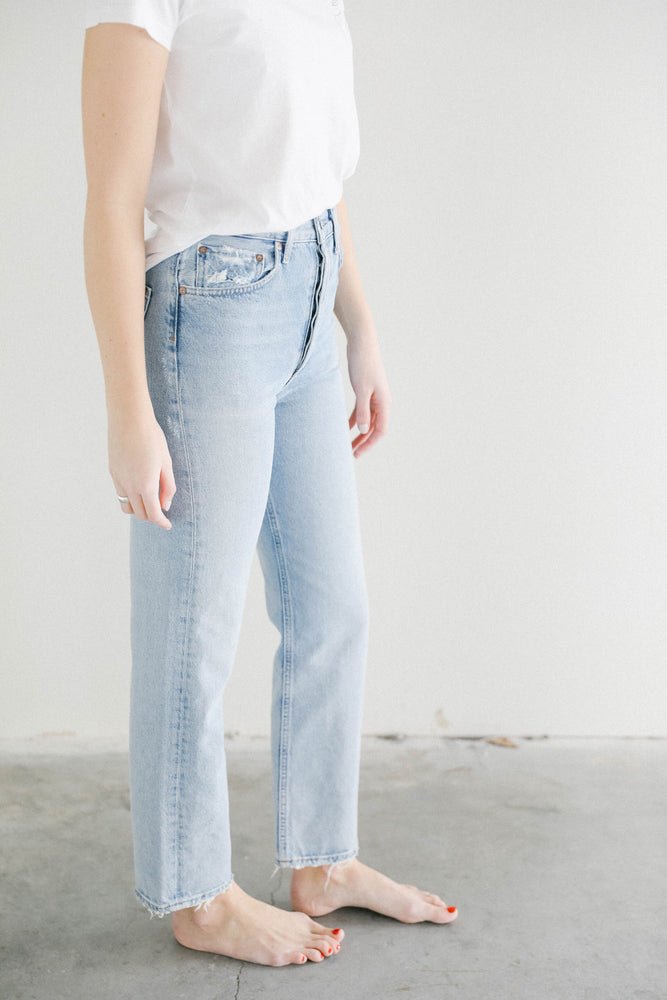 Load image into Gallery viewer, Agolde 90's Jeans in Snapshot