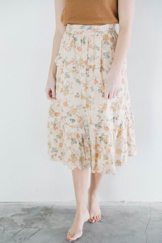 Rowie the Label Margot Skirt in Meadow