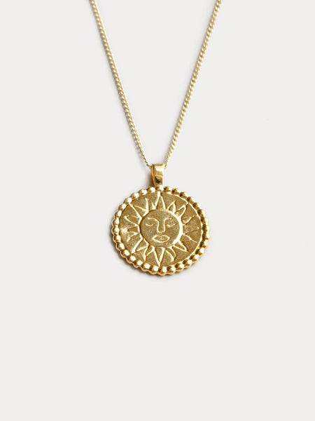 Wolf Circus Lumen Necklace in Gold