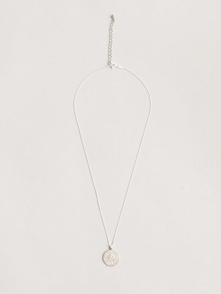 Wolf Circus Lumen Necklace in Silver