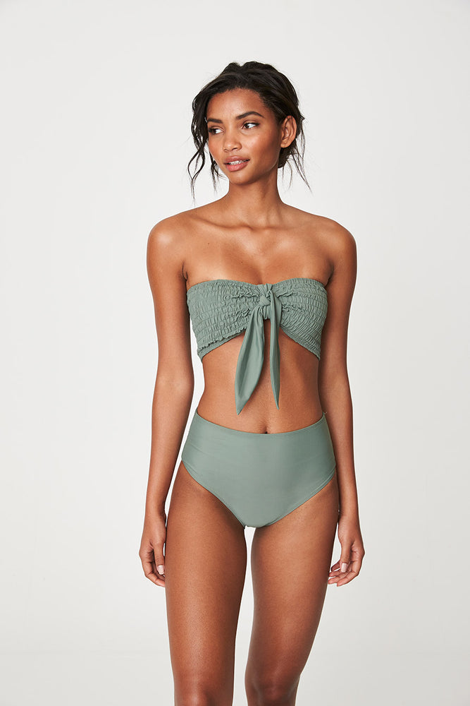 Load image into Gallery viewer, Rowie Army Swim Bandeau