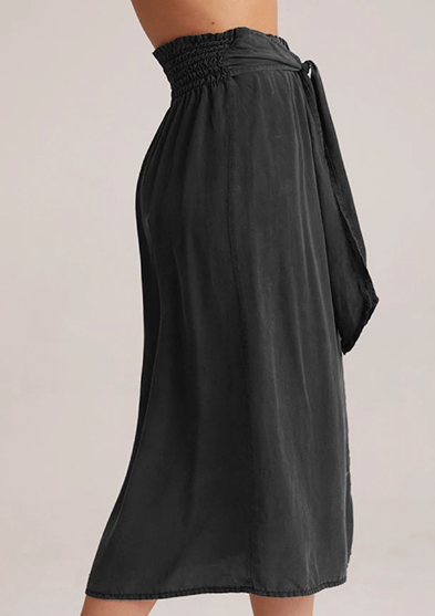 Load image into Gallery viewer, Bella Dahl Tie Up Midi Skirt