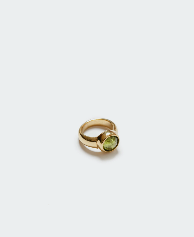 Wolf Circus Magda Ring in Peridot and Gold