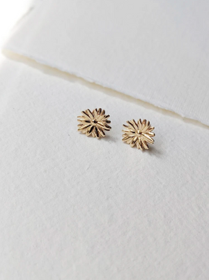 Little Gold - Marguerite Studs