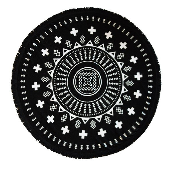 Tofino Towel Co the florencia round beach towel