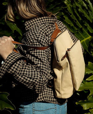 The Horse Canvas Backpack