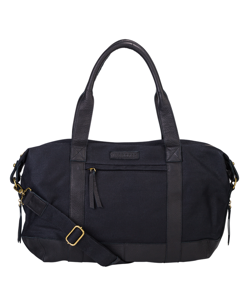The Horse Weekender Duffle Bag in Black
