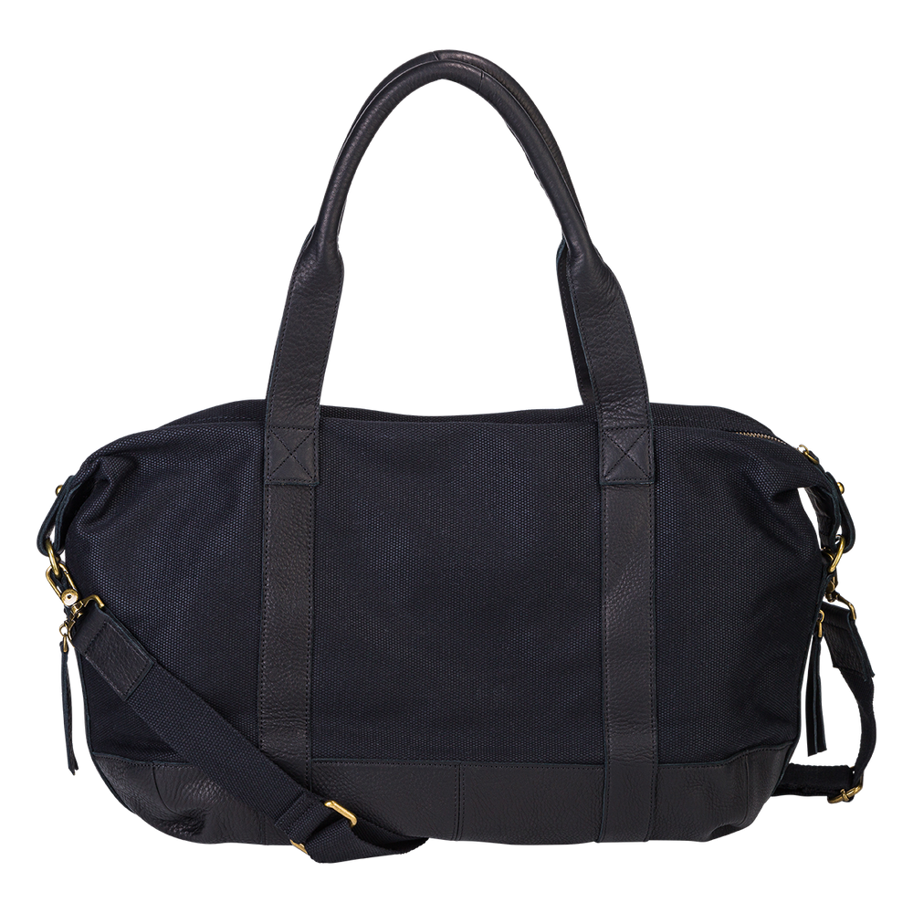 Load image into Gallery viewer, The Horse Weekender Duffle Bag in Black