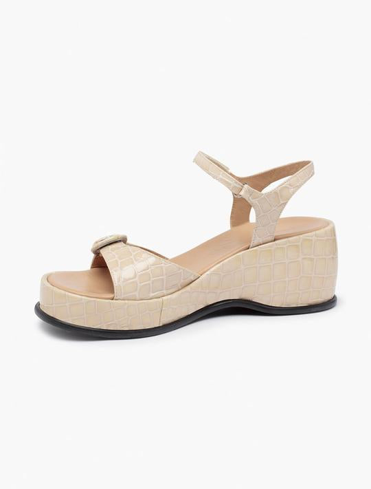 Load image into Gallery viewer, Paloma Wool Forbes Sandal in Beige Ecru