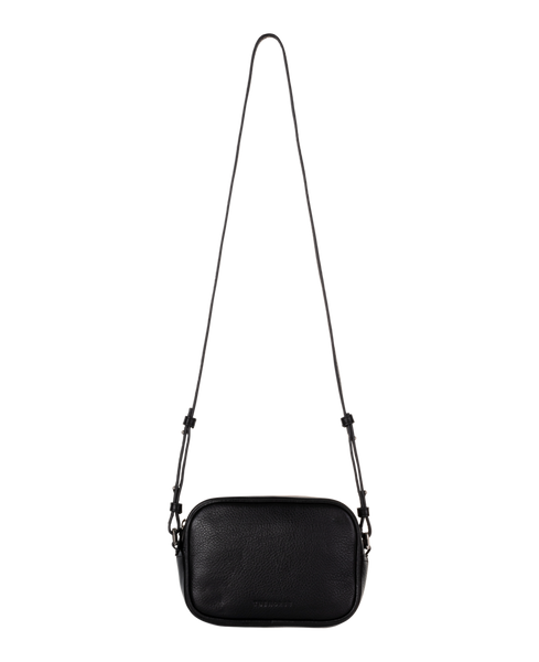 The Horse Crossbody Leather Bag in Black