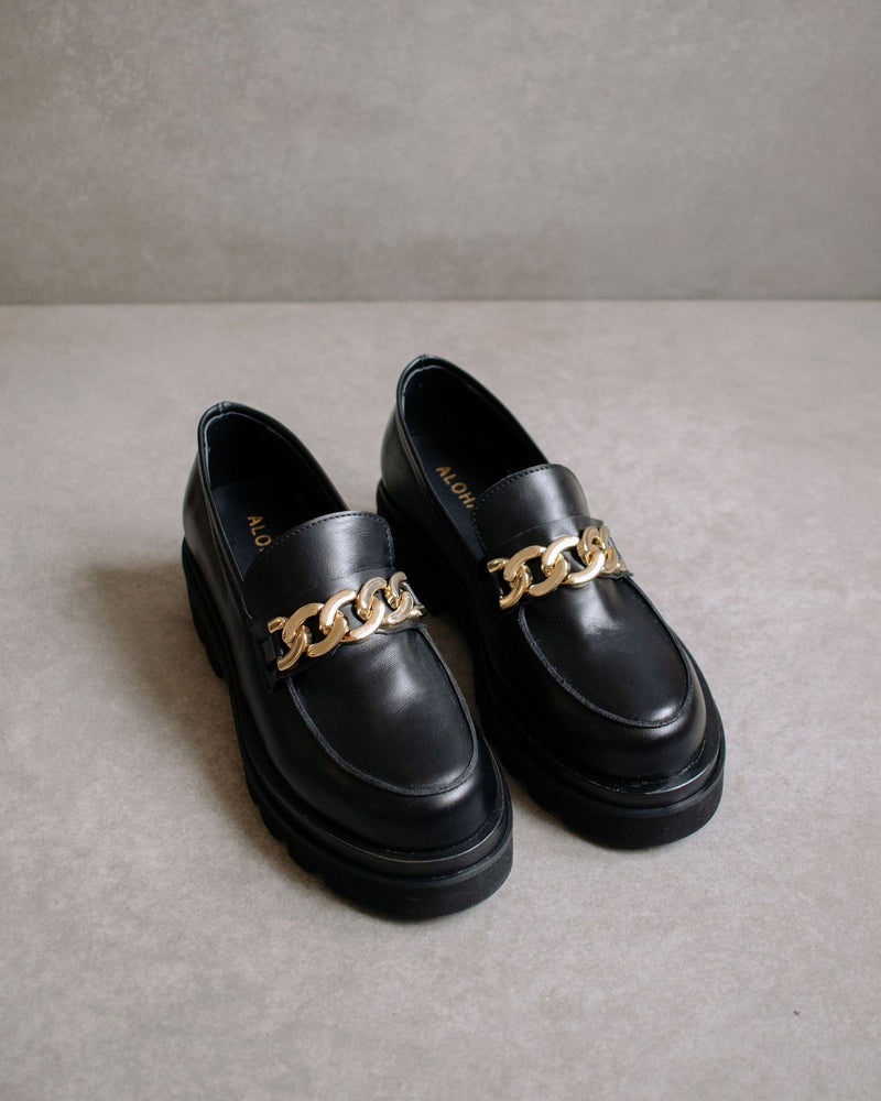 Alohas Track Loafer in Total Black PRE-ORDER